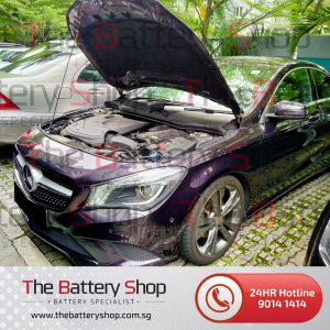 Mercedes C-Class Auxiliary Battery