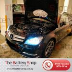 Mercedes C180 Auxiliary Battery