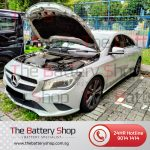 Mercedes CLA200 Auxiliary Battery