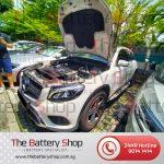 Mercedes GLC250 Auxiliary Battery