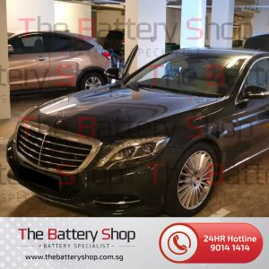 Mercedes Auxiliary Battery S-Class