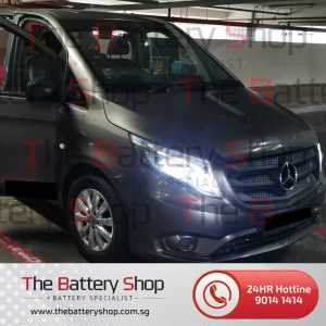 Mercedes Vito Auxiliary Battery