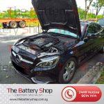 TBS Auxiliary Battery Mercedes C200